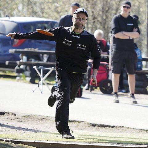 Oliver Endla kuluvan vuoden Tali Openissa (Kuva: Timo Toivonen)